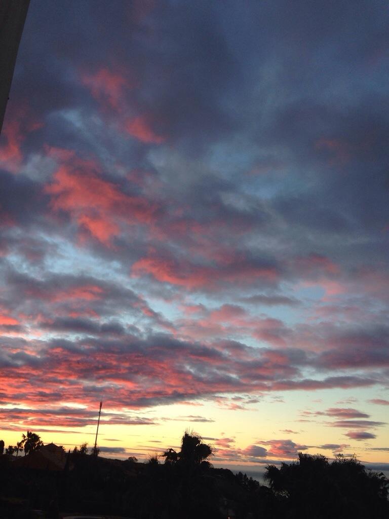 Rosa moln ochhelg