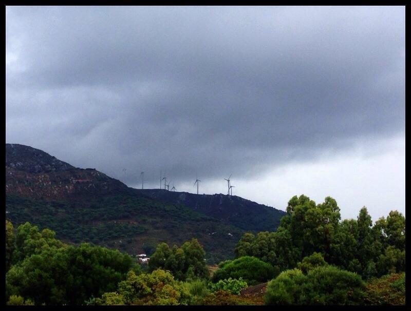 Afrika, regn ochåska